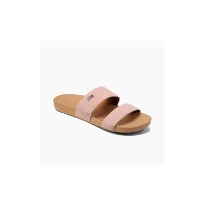 リーフ サンダル シューズ レディース Cushion Vista Pool Slides Medium Pink