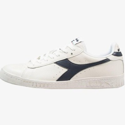 ディアドラ メンズ 靴 シューズ GAME WAXED - Trainers - white/blue caspian sea