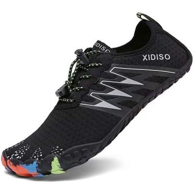 [XIDISO] マリンシューズ メンズ レディース ウォーターシューズ 水陸両用 アクアシューズ ビーチシューズ ジム トレーニング 通気性 軽量