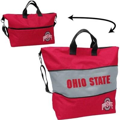 ロゴ Logo ユニセックス トートバッグ バッグ Ohio State Buckeyes Crosshatch Tote