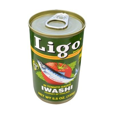 イワシのトマト煮 Ligo Sardines In tomato sauce Iwashi 155g