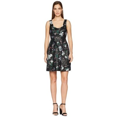 プラバルグラング ワンピース トップス レディース Floral Jacquard Sleeveless Dress Black