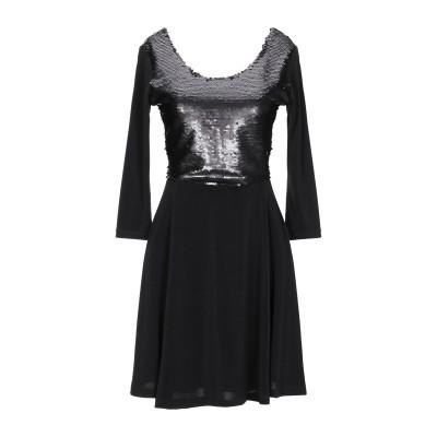 GIORGIA  & JOHNS ミニワンピース&ドレス ブラック S ポリエステル 95% / ポリウレタン 5% ミニワンピース&ドレス
