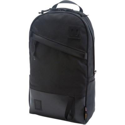 トポ・デザイン バックパック・リュックサック メンズ バッグ Daypack 20L Backpack Ballistic Black/Black Leather