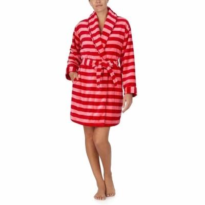 ケイト スペード ナイトウェア アンダーウェア レディース Chenille Wrap Robe Holiday Stripe
