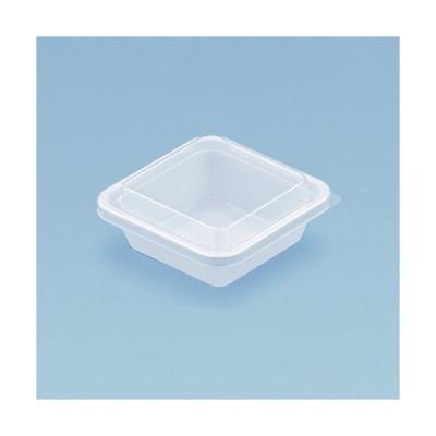 エスコン角101-W(白) 本体のみ  惣菜容器(惣菜・サラダ・フルーツ容器)