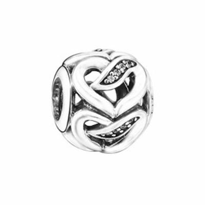 パンドラ ブレスレット アクセサリー PANDORA Ribbons of Love Charm - 792046CZ