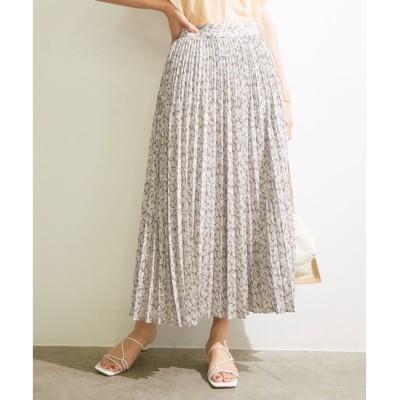 【マドモアゼル ロペ/MADEMOISELLE ROPE'】 【ROPE'】【WEB限定】オリジナルプリントオヤコプリーツスカート