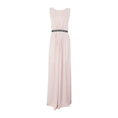 MANGANO ロングワンピース&ドレス ライトピンク 40 ポリエステル 100% ロングワンピース&ドレス