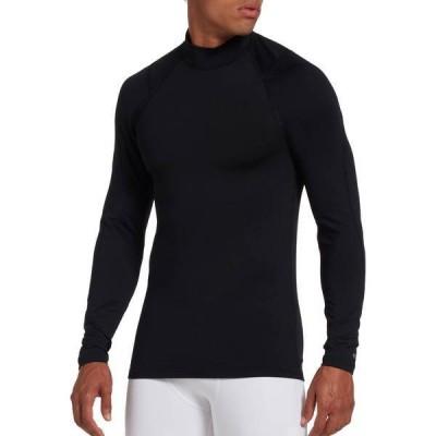DSG メンズ シャツ トップス DSG Men's Cold Weather Compression Mock Neck Long Sleeve Shirt (Regular and Big & Tall)