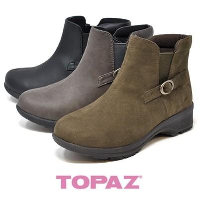 スノーブーツ 防水 TOPAZ トパーズ 防寒 スノーシューズ TZ 4821 雪 冬 靴 レディース カジュアルブーツ 婦人靴