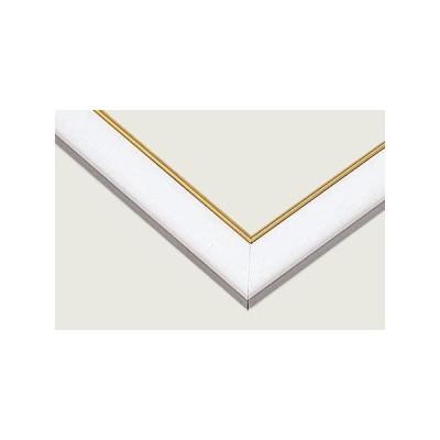 ジグソーパズル用 ゴールドモール木製パネル ホワイト MP037 51.5×18.2cm 3-P パズル枠 パズル 枠