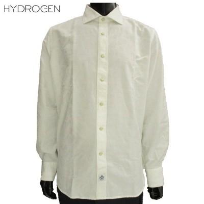 ハイドロゲン(HYDROGEN) メンズ 迷彩 白 シャツ 220410 A93  81S