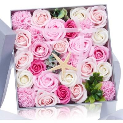 石鹸バラプレゼントボックスは仲間のよい親友に送るだけでなく 引越し 母の日 誕生日バレンタインデー 感謝祭 クリスマスの一番いいプレゼントである 人工