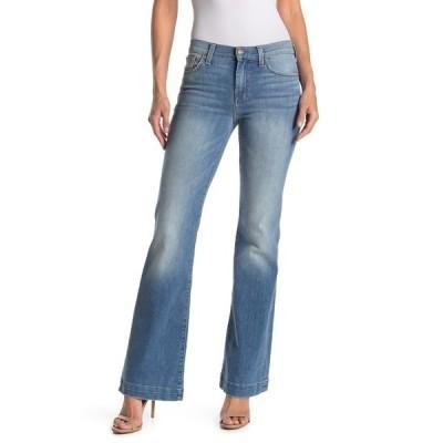 7フォーオールマンカインド レディース デニムパンツ ボトムス Dojo Wide Leg Jeans IBIZA