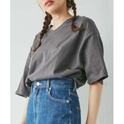 tシャツ Tシャツ WEGO/【ZOZOTOWN&一部店限定】コットンVネックラウンドT