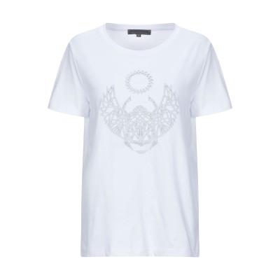 フランキー モレロ FRANKIE MORELLO T シャツ ホワイト S コットン 100% T シャツ