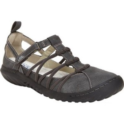 ジャンブー Jambu レディース サンダル・ミュール シューズ・靴 JBU Juliet Vegan Closed Toe Sandal Charcoal Tumbled Vegan Nubuck