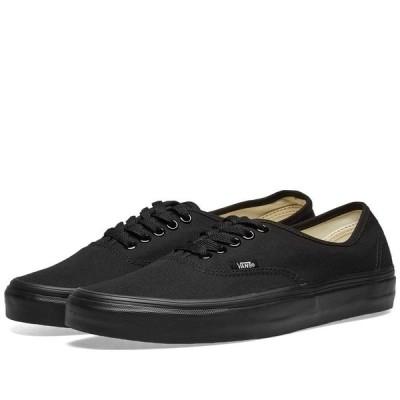 ヴァンズ Vans メンズ スニーカー シューズ・靴 Authentic Black/Black