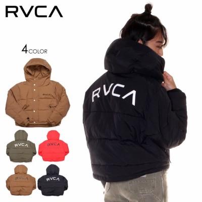 RVCA ルーカ ジャケット レディース RVCA PUFFA JACKET 2019秋冬 ブラック/ブラウン/グリーン/レッド S