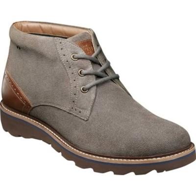 ノンブッシュ メンズ ブーツ&レインブーツ シューズ Buchanan Plain Toe Chukka Boot Grey Suede
