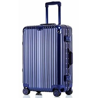 【送料無料】Langxj hj スーツケース キャリーバッグ100%PCポリカーボネート ダブルキャスター 二年安心保証 機内持込 アルミフレーム人