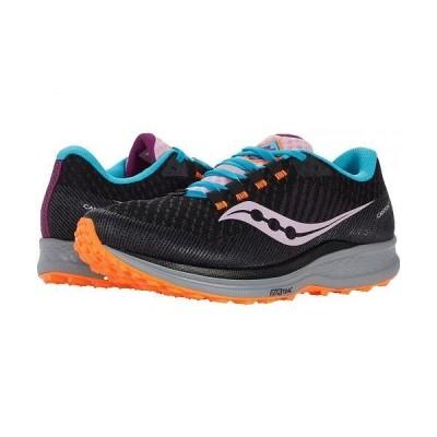Saucony サッカニー レディース 女性用 シューズ 靴 スニーカー 運動靴 Canyon TR - Future Black