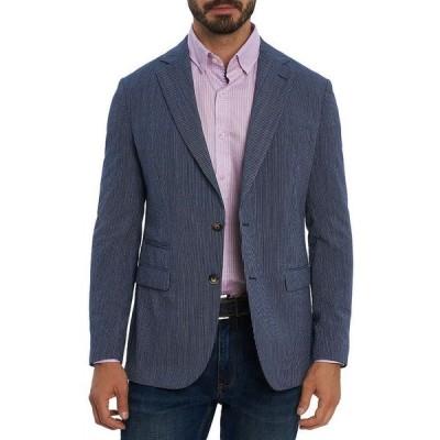 ロバートグラハム メンズ ジャケット・ブルゾン アウター Seersucker Tailored Fit Sport Coat