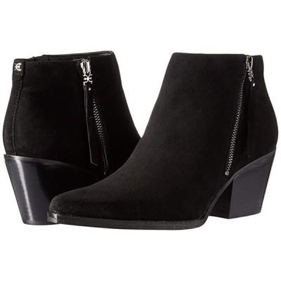 サム エデルマン Walden レディース ブーツ Black Suede Leather