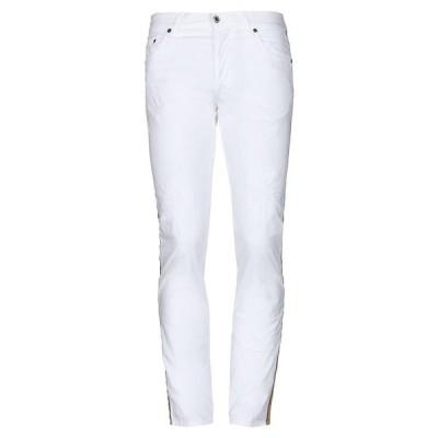 AGLINI 5ポケットパンツ ファッション  メンズファッション  ボトムス、パンツ  その他ボトムス、パンツ ホワイト