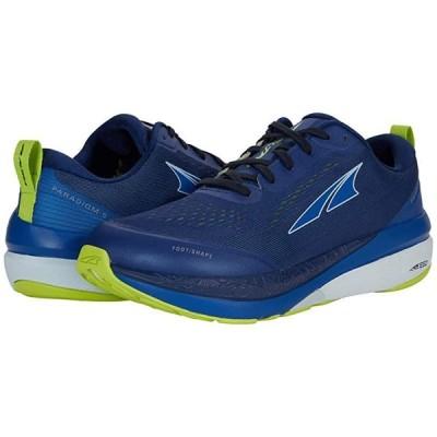Altra Footwear Paradigm 5 メンズ スニーカー 靴 シューズ Blue/Lime