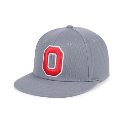 トップ・オブ・ザ・ワールド 帽子 アクセサリー メンズ Ohio State Buckeyes Core Fitted Cap Gray