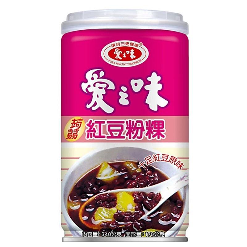 愛之味蒟蒻紅豆粉粿340g