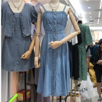 レディース ロングtシャツワンピース 大きいサイズ 秋のワンピース デニム ワンピース 夏 大きいサイズ サロペット スカート ジャンパー
