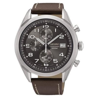セイコー SEIKO 男性用 腕時計 メンズ ウォッチ クロノグラフ グレー SSB275P1