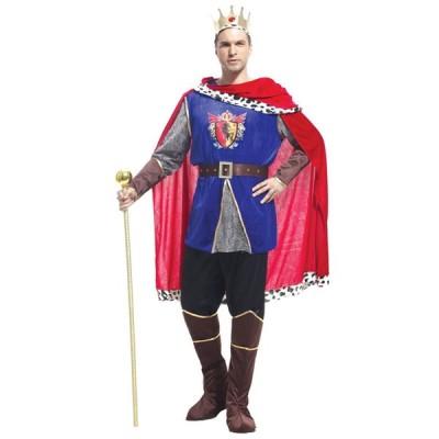ハロウィン コスプレ コスチューム 大人 男性  国王 キング 王子 プリンス 貴族 仮装 変装