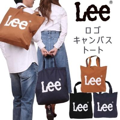Lee リー ロゴ トートバッグ かばん レディース メンズ キャンバス QPER60-0425349
