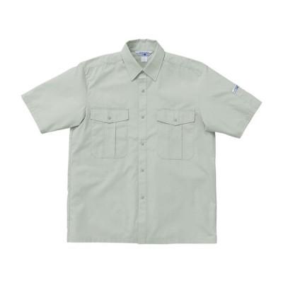 作業服 春夏用 作業着 半袖シャツ クロダルマKURODARUMA2665 防護服