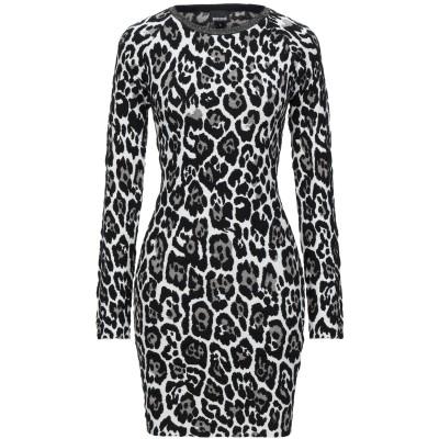 ジャストカヴァリ JUST CAVALLI ミニワンピース&ドレス ブラック XS レーヨン 42% / ポリエステル 23% / ウール 15%