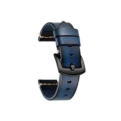 【送料無料】Rubbing Leather Smartwatch Bands Compatible with Samsung Galaxy Watch 42mm/