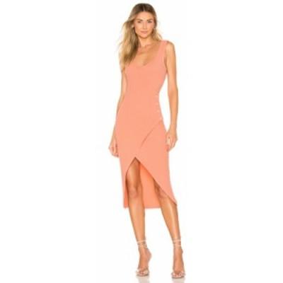ラヴァーズフレンズ Lovers + Friends レディース ワンピース ワンピース・ドレス Macpherson Midi Dress Peach