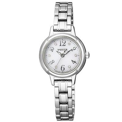 ウィッカ シチズン wicca CITIZEN ソーラー  レディース 腕時計 KH9-914-15