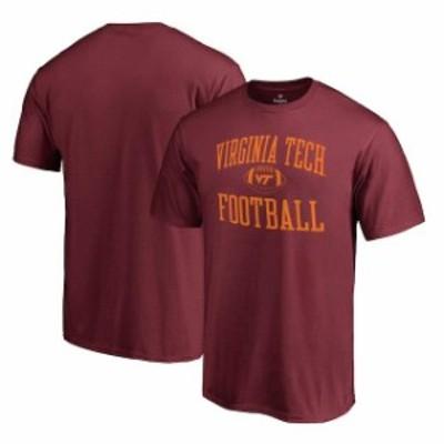 Fanatics Branded ファナティクス ブランド スポーツ用品  Fanatics Branded Virginia Tech Hokies Maroon Neutral Zone Team Logo T-Shi