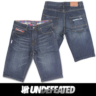 UNDEFEATED UNDFTD アンディフィーテッド メンズ ハーフ ジーンズ ud01