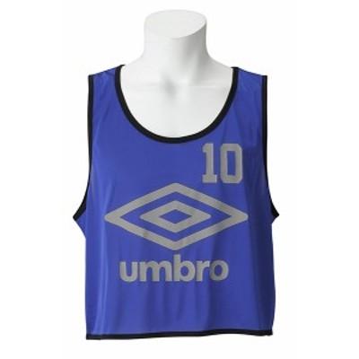 アンブロ(UMBRO) スポーツウェア ストロングビブス10Pブルー(メンズ)