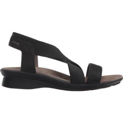 メフィスト Mephisto レディース サンダル・ミュール シューズ・靴 Pastora Sandal Black Bucksoft Leather