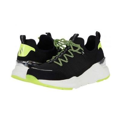 SKECHERS スケッチャーズ レディース 女性用 シューズ 靴 スニーカー 運動靴 Rovina - Killn Knit - Black/Lime