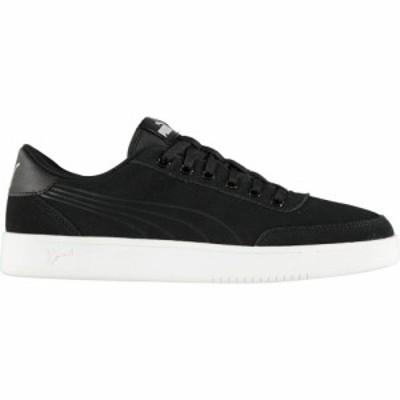プーマ Puma メンズ スニーカー シューズ・靴 Court Breaker Trainers Black/Black