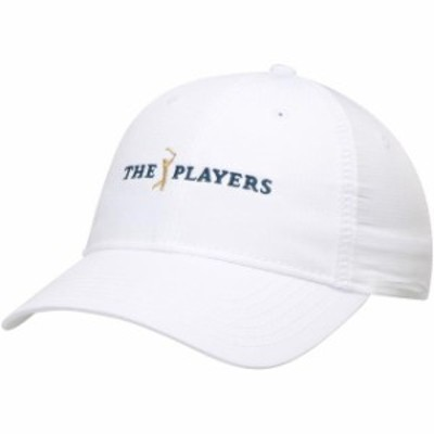 Kate Lord ケイト ロード スポーツ用品  Kate Lord THE PLAYERS Championship Womens White Polyester Adjustable Hat