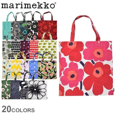 ( メール便 送料無料 ) マリメッコ バッグ MARIMEKKO エコバック 鞄 手提げ 北欧雑貨 トート お出かけ 買い物 花柄 総柄 ブランド